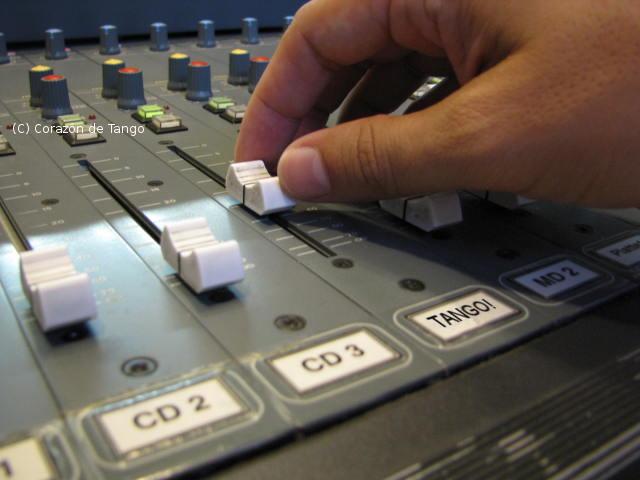 Mischpult im Radio Z-Studio