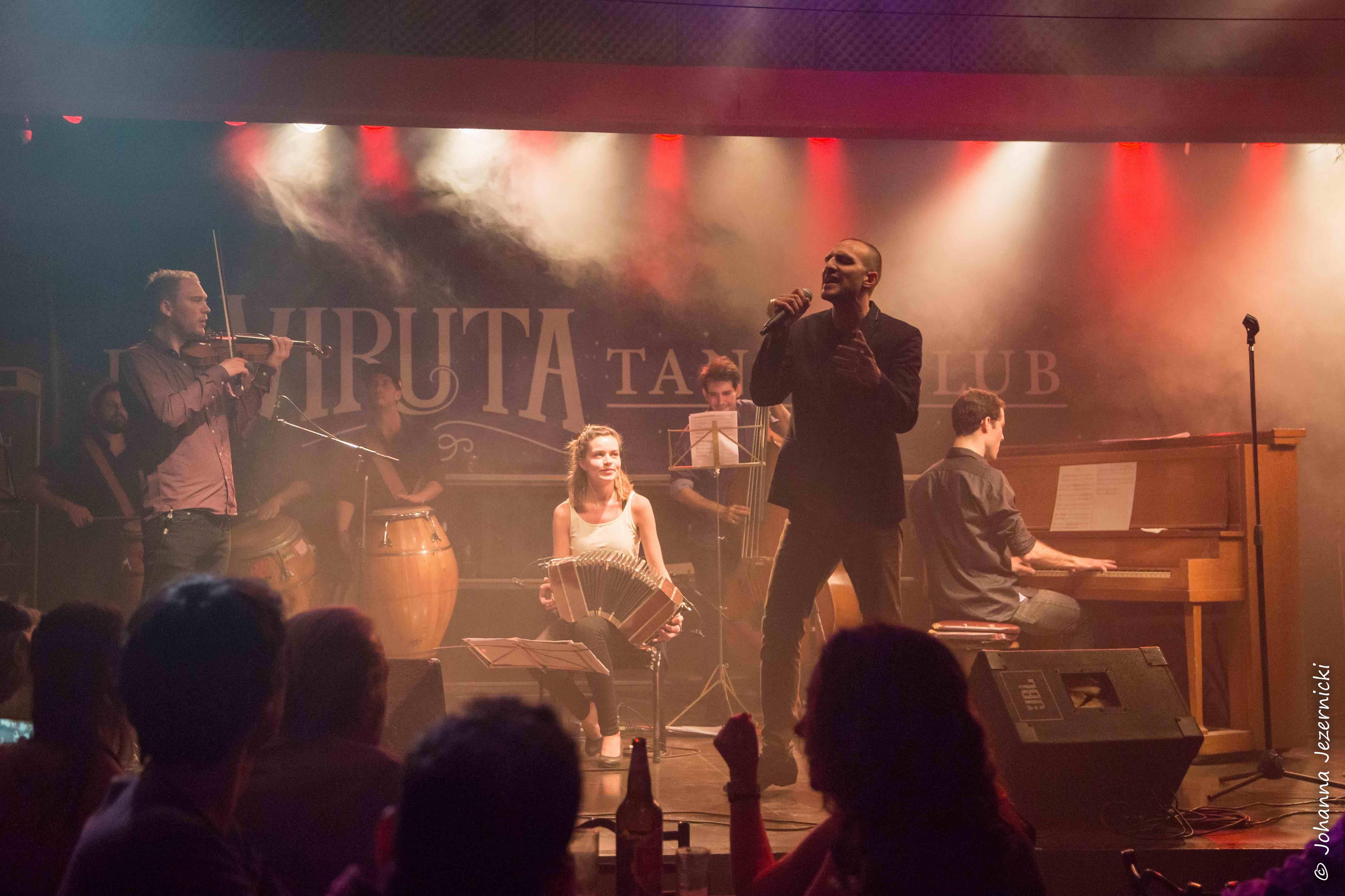 El Muro mit Juan Villarreal im Viruta Tango Club